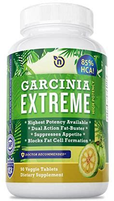 85% hca best garcinia cambogia fast-acting tablet by nutrigood labs - picture 1
