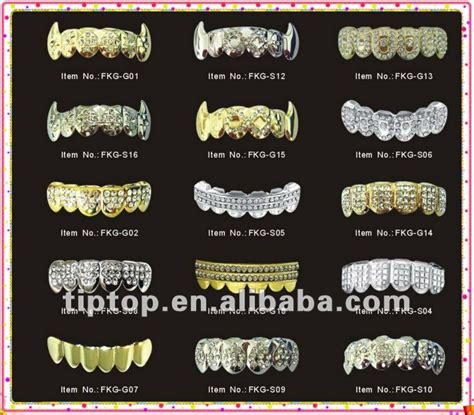 wholesale custom gold teeth grills picture 5