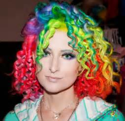 wild colored hair picture 2