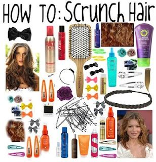 How to scrunch your hair picture 6