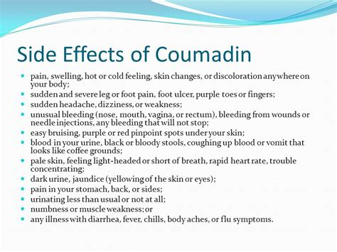 coumadin--effects on skin picture 2