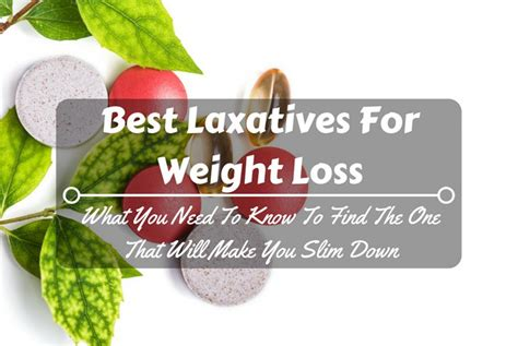 laxatives and weight loss picture 2