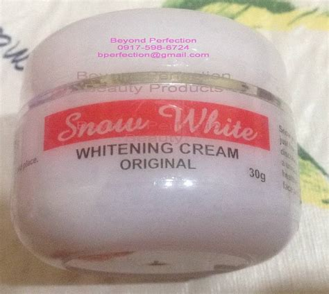 thailand snow white whitening cream picture 1