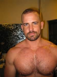 hairy muscle beard mens picture 2