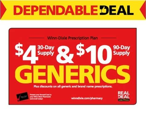 $4 list of winn dixie drugs picture 4