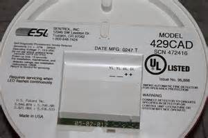 sentrol esl 521 smoke detector picture 14
