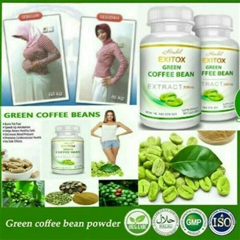 khasiat exitox green cofee bean picture 9