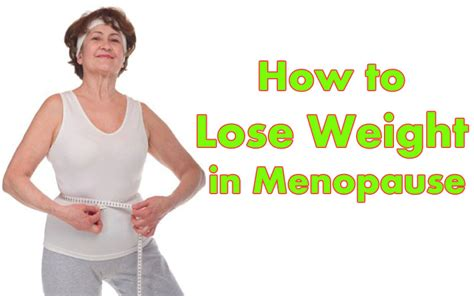 weight loss and menopause picture 9