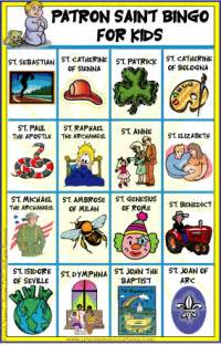 a list of catholic saints for children health picture 1