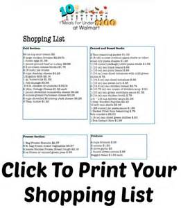 walmart $4 list printable picture 19