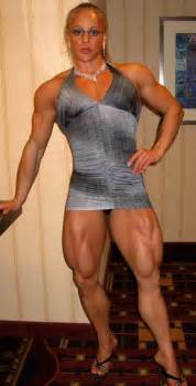 very muscular women wrestling picture 11