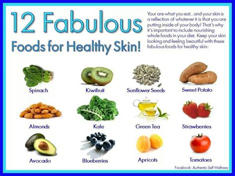 foods for healthy skin picture 2