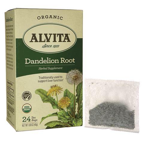alvita dandelion root bulk tea picture 3