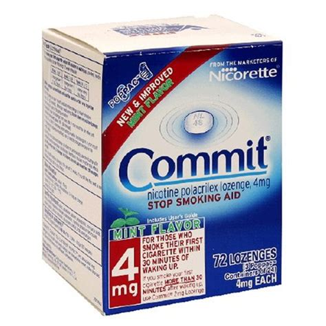 commit lozenges to quit smoking picture 3