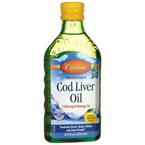 carlson cod liver oil - lemon flavored picture 4