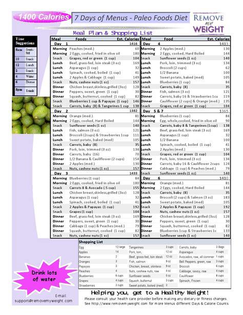 1400 calorie sample diet plans picture 11