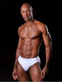 bodybuilding black hunk males picture 2