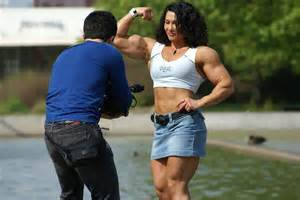 mixed wrestling fbb destroys muscle man picture 21