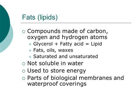 compounds released when fat used for energy picture 1