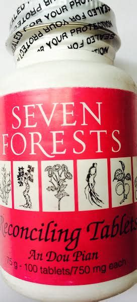 seven forests salvia/ligustrum tablets picture 5