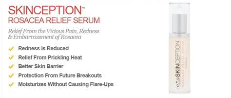 skinception rosacea relief serum reviews picture 1
