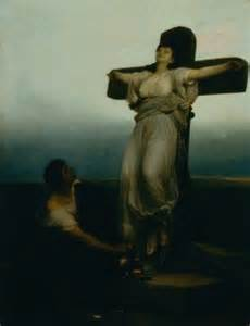 crucified women nailed vid os picture 5