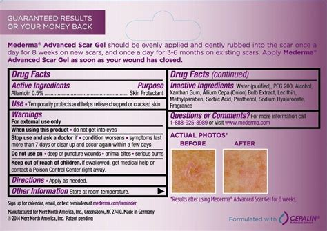 mederma skin therapy results picture 3