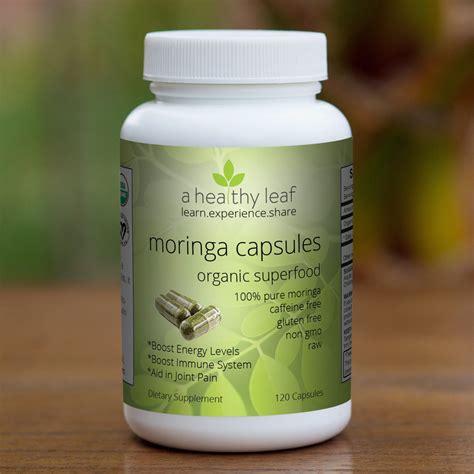 moringa leaf capsule picture 1