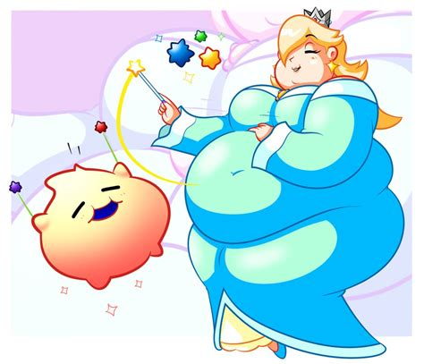rosalina weight gain anime expansion picture 2