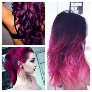 purple and pink hair color picture 6