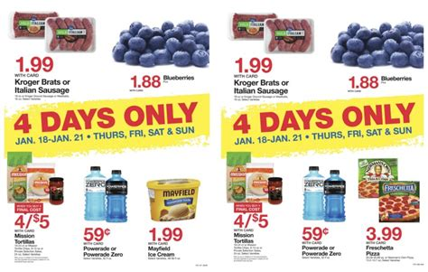 kroger 4 day sale ad picture 3
