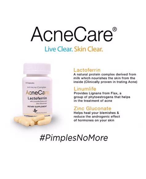 acne care acnecare - w/ lactoferrin feedback picture 6