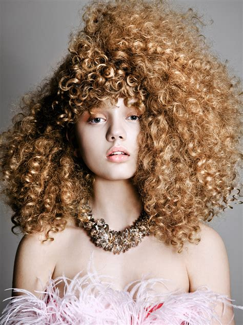 curly hair models picture 1