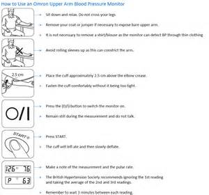 Education on how to use blood pressure monitor picture 6