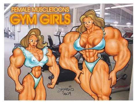 female muscle growth comics picture 9