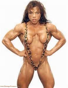 is a female bodybuilder more muscular then colette picture 6