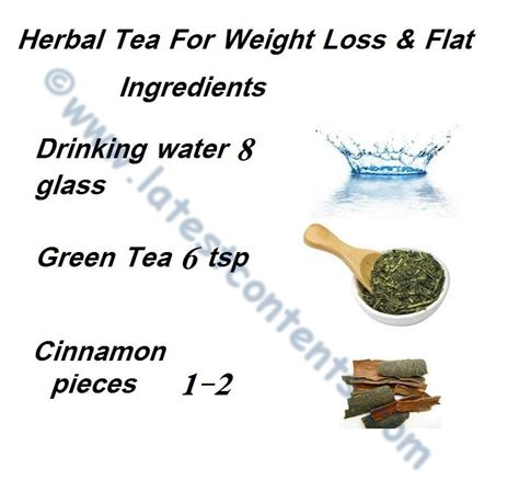 herbs tea for weight loss flat stomach picture 2