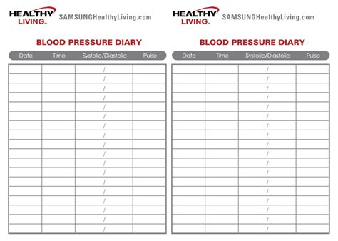 Free blood pressure chart picture 7