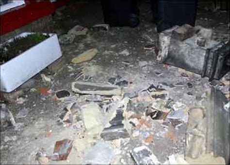 chimney debris struck picture 7