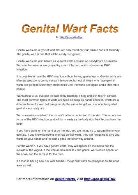 how did i get genital warts picture 1