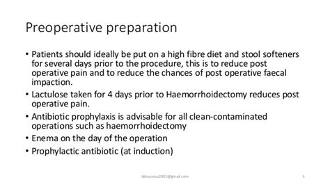 diet prior to hemorrhoidectomy picture 2