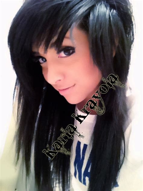 emo girl hair picture 10