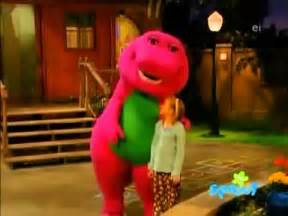 kids on barney sleeping together picture 6