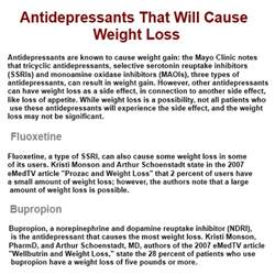 antidepressants that cause weight loss picture 2