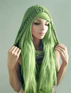 coloring hair green picture 10