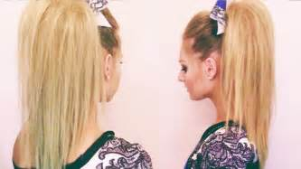 cheer hair picture 2