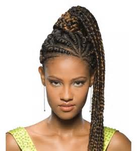 African ponytail hair styles picture 3