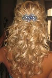 wedding hair half up half down formal picture 2
