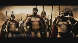 how did the actors in 'the 300' get in such great shape picture 2