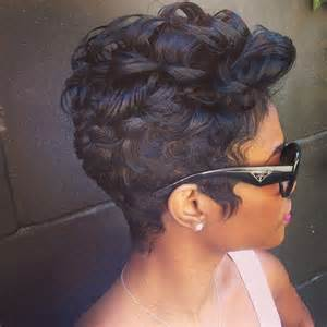 short hair cuts for afro american women picture 1
